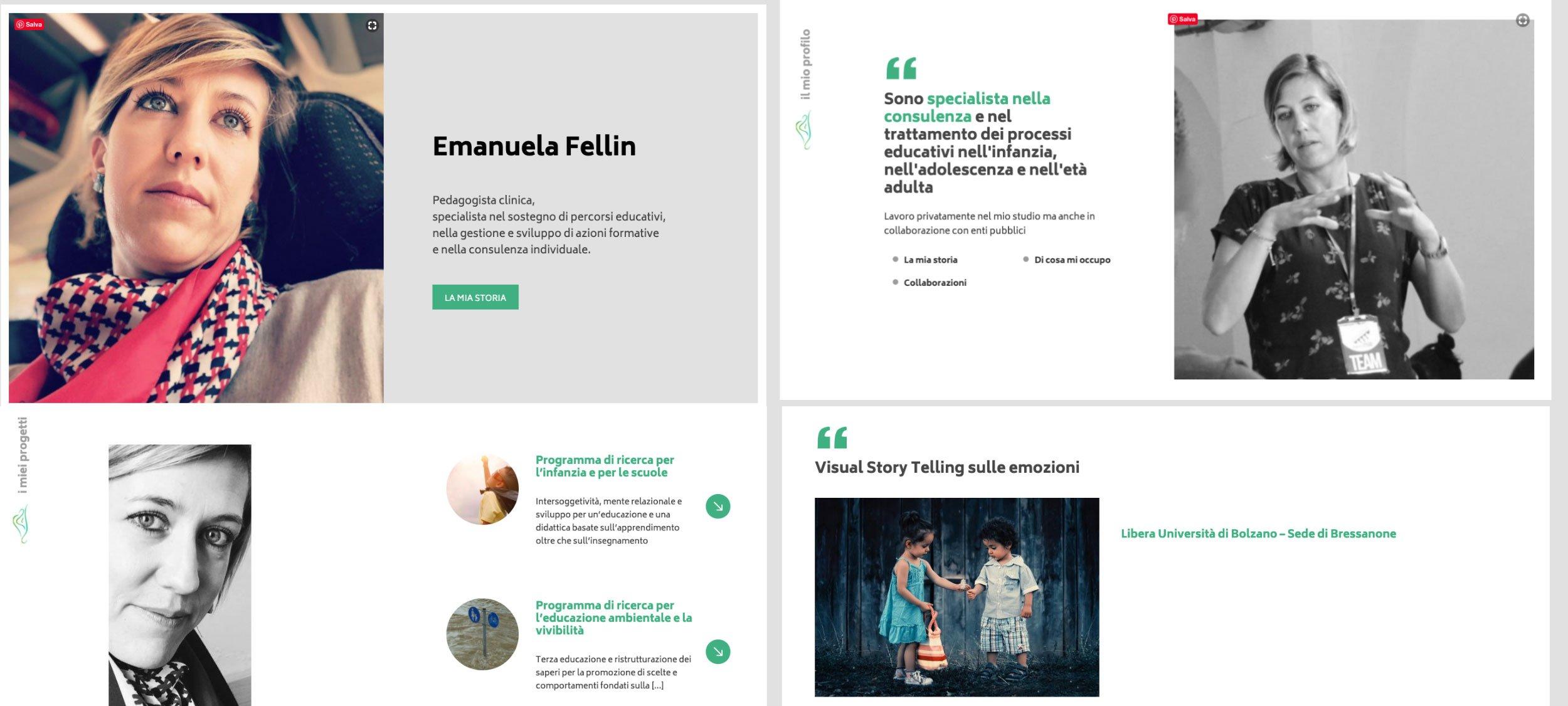 Sito per professionisti - Emanuela Fellin