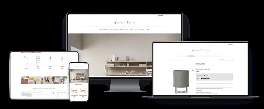Shop online elementi Home